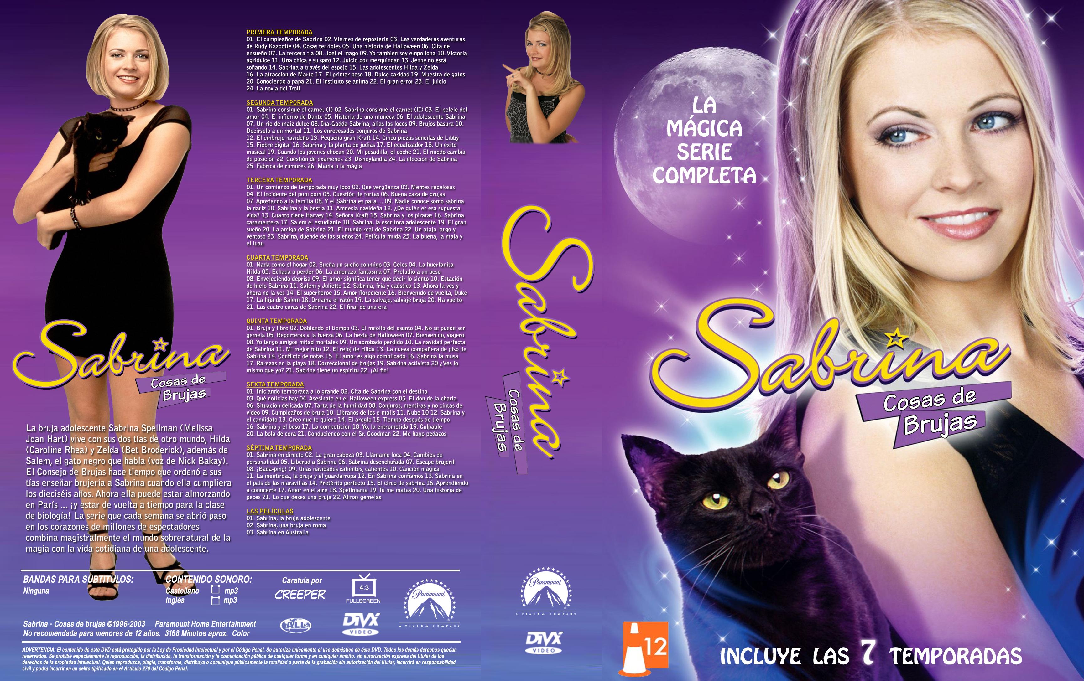 Sabrina la Bruja Adolescente Temporadas 1, 2, 3 Audio