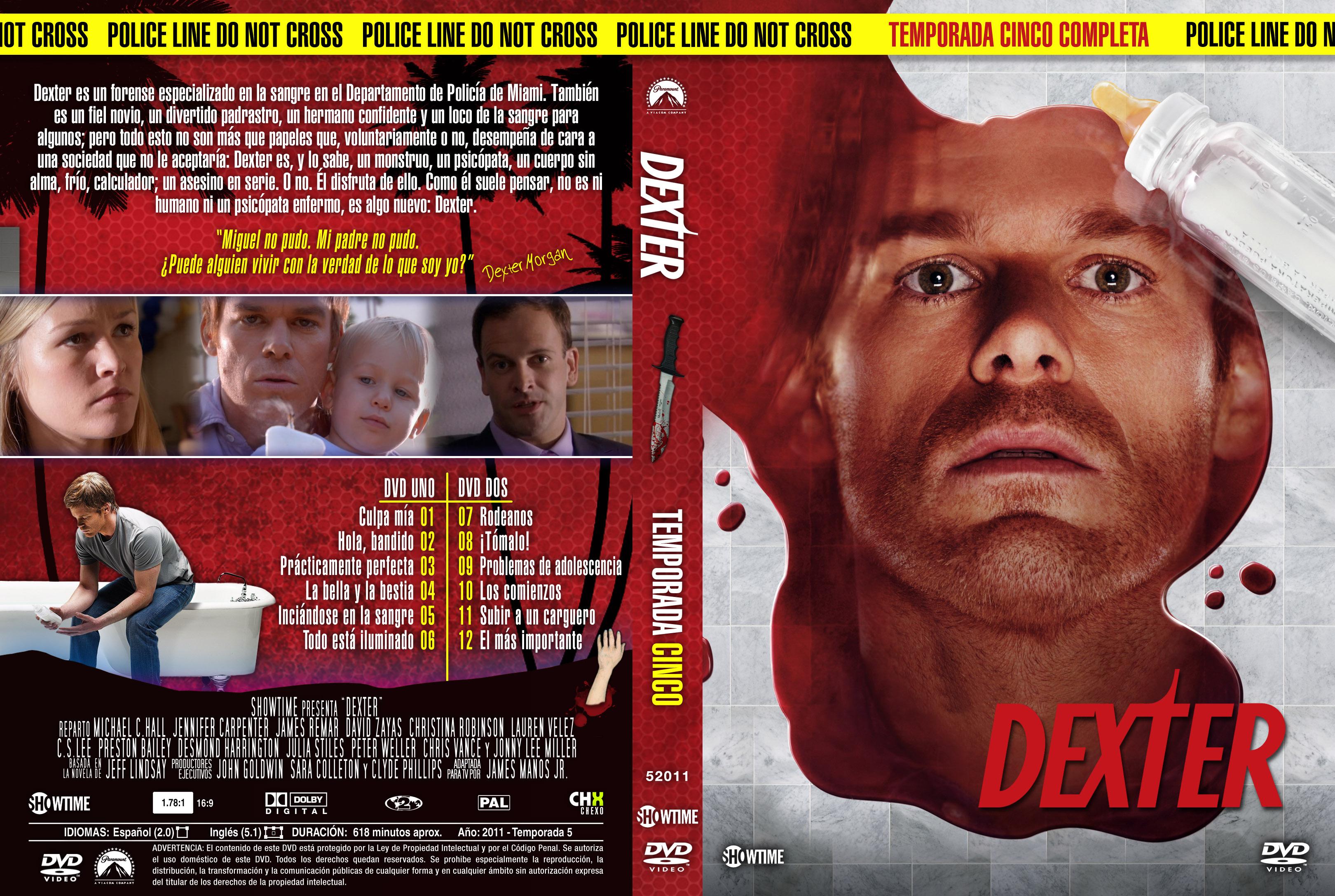 Dexter - Menu-Graphics