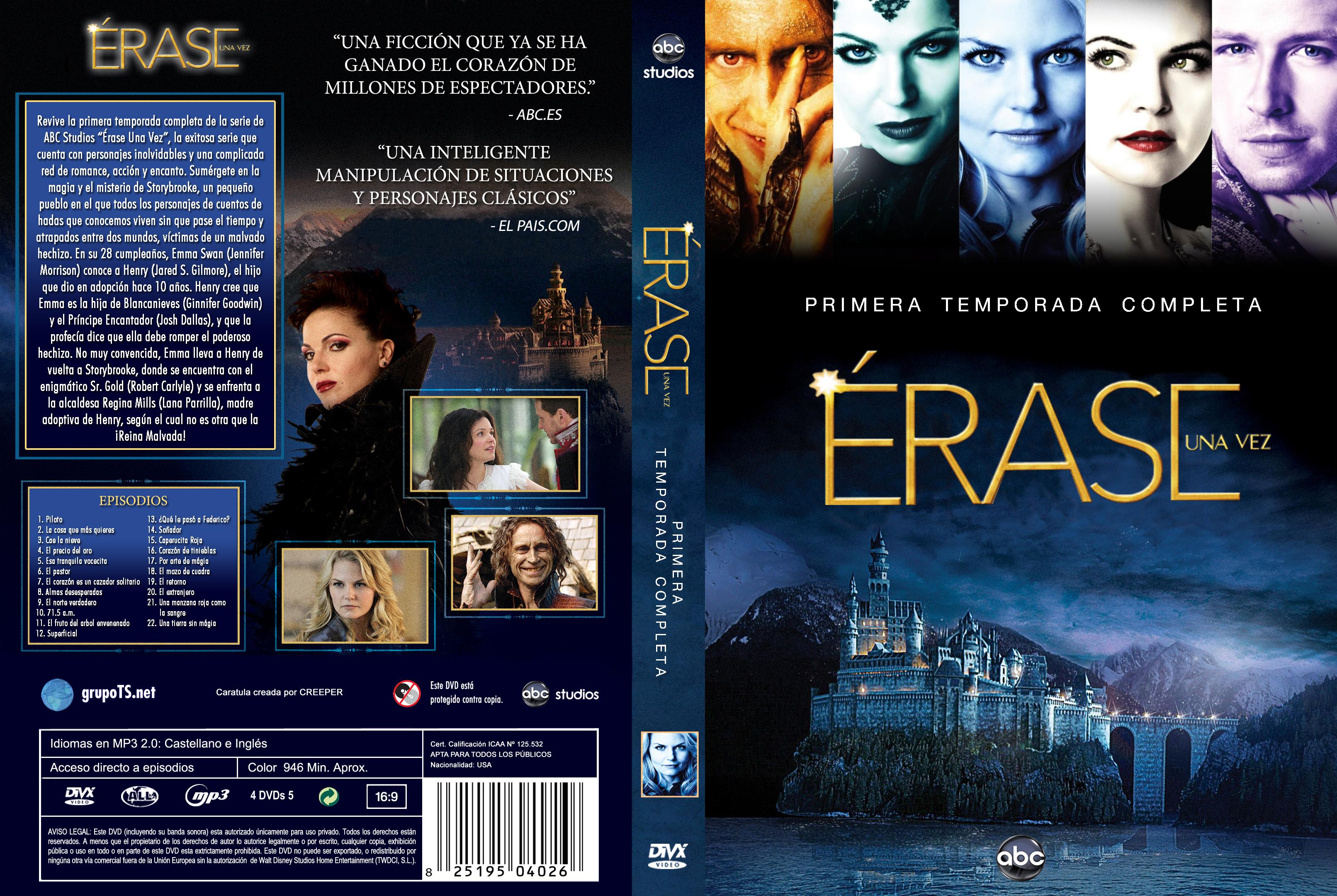 Nueva versión de Erase una vez Temporadas 1 y 2 - Menu-Graphics