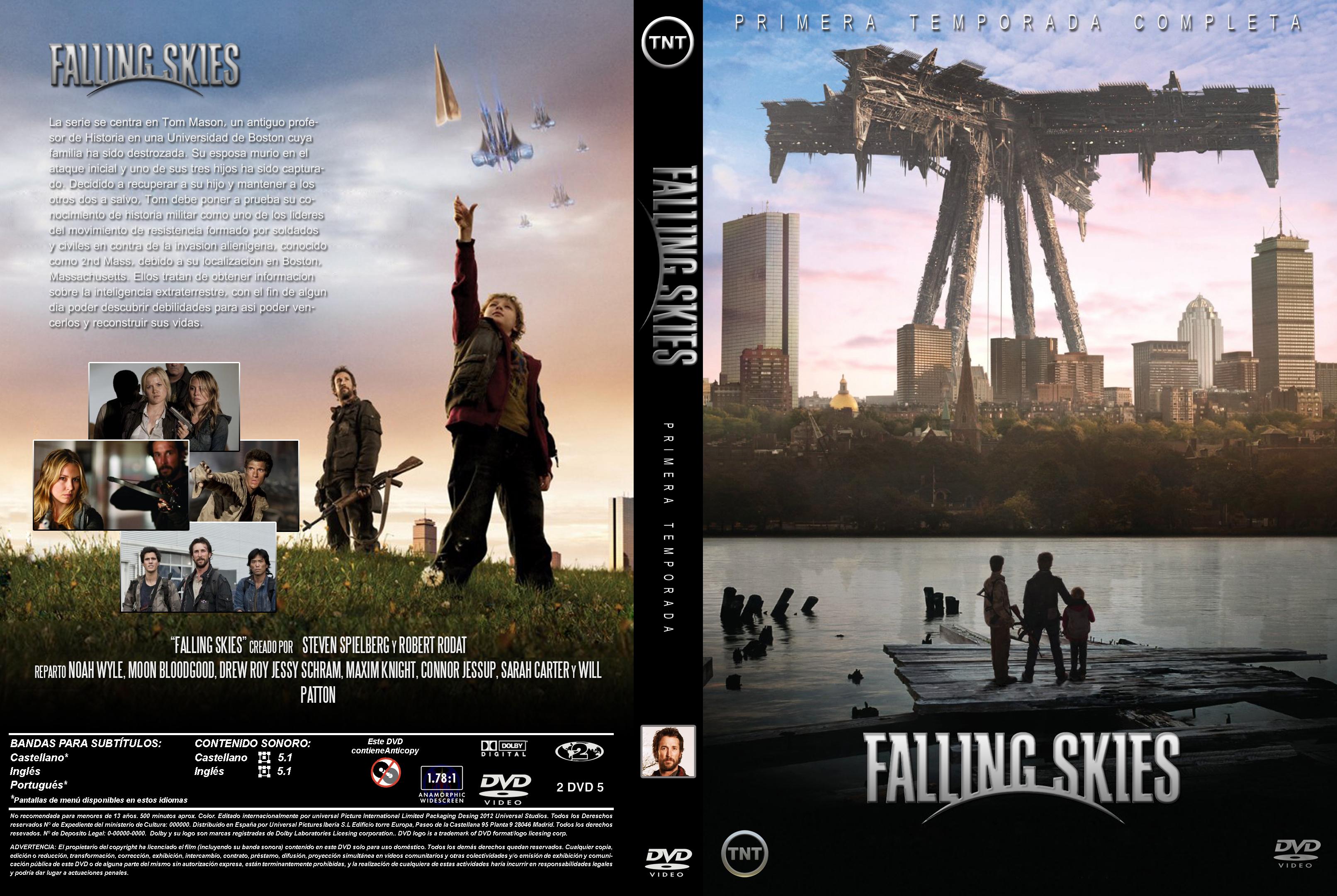 Falling Skies - Primera temporada - Menu-Graphics