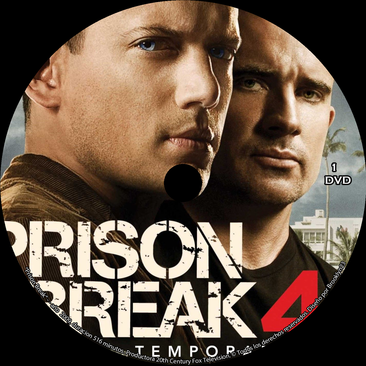 Prison Break Temporadas 1 - 4 - Menu-Graphics