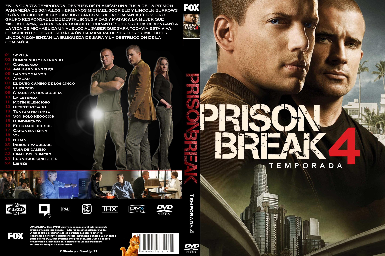 Prison Break Temporadas 1 - 4 - Menu-Graphics