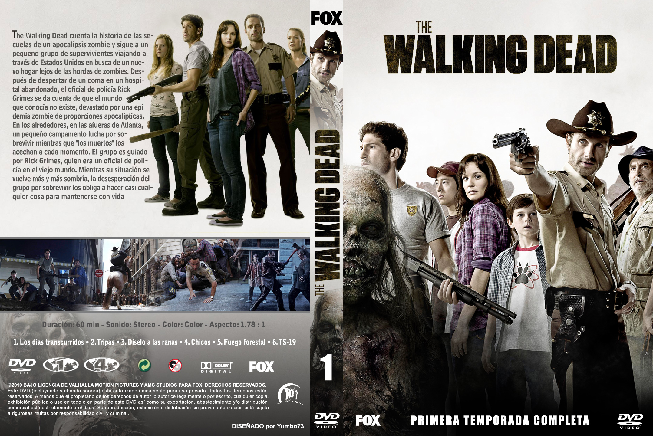 The Walking Dead - Nueva Versión - Menu-Graphics